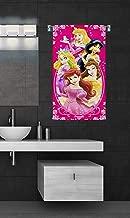 Sassoon Disney Microfiber Printed Multi Colour Bath Towel-50 X 85 cm (Princess Mirror)