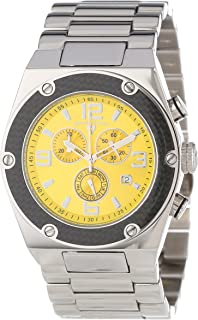 Men's 40025-77 Throttle Chronograph Stainless Steel Watch