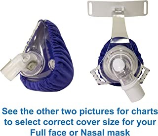 CPAP Mask Liners - Reusable Fabric Comfort Covers to Reduce Air Leaks & Skin Irritation (#7090)