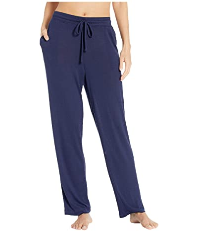 N by Natori Ntrance Ultrasoft Hacci Rib Pants (Midnight Navy) Women