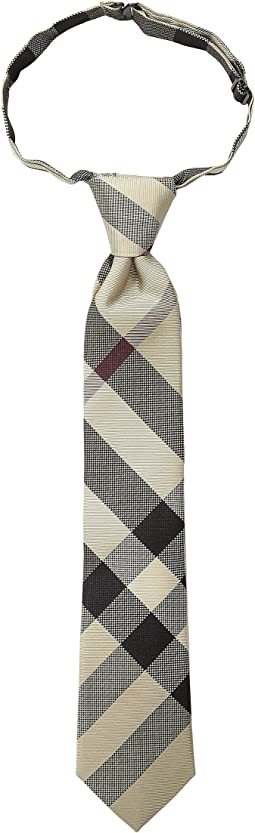 Burberry Kids - Manston Checked Tie (Little Kids/Big Kids)