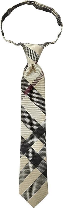 Burberry Kids - Manston Checked Tie (Little Kids/Big Kids)