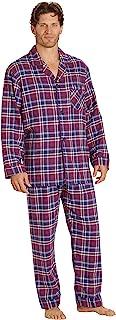 Sponsored Ad - EverDream Sleepwear Mens Flannel Pajamas, Long 100% Cotton Pj Set