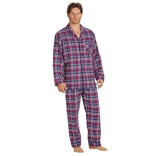 918734fd4e EVERDREAM Sleepwear Mens Flannel Pajamas