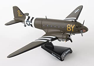"""Daron Worldwide Trading Postage Stamp C-47 DC-3 """"Stoy Hora USAAF Vehicle (1/144 Scale)"""