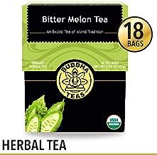 Organic Bitter Melon Tea, 18 Bleach-Free Tea Bags – Organic, Anti-Parasitic Tea Assists with Digestive Issues and Can Help Regulate Blood Sugar, No GMOs