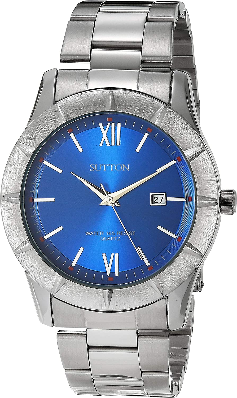 Sutton by Armitron Reloj de Vestir SU/5021BLSV