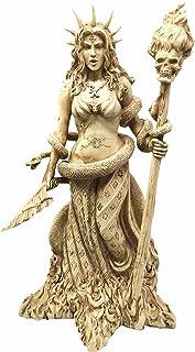 Ebros ギリシャの女神 ホワイト 魔法使い ヘカテ 置物 ヘカテ 神 マジック パワフル 異教徒 魔女