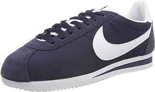 Nike Australia Women's Classic Cortez Nylon Trainers, Black/White