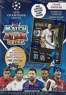 Topps 2019/20 UEFA Champions League Match Attax - Caja de suspensión para principiantes