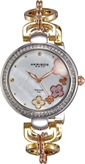 Akribos XXIV Women's Alloy Band Watch