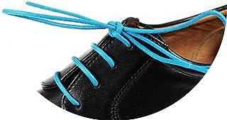 Loco!Laces - lacci per scarpe cerati, colorati, rotondi, per scarpe eleganti e in pelle, lunghezza: 80cm, diametro: ...