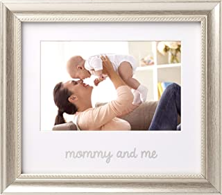 Lil Peach Mommy and Me Keepsake Frame, The Perfect Gift for Mom, Silver