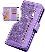 Herbests Compatible with Samsung Galaxy J4 2018 Wallet Case Emebossed Cat Girl Butterfly PU Leather Folio Flip Case Multi-Function 9 Credit Card Holders Protective Case Cover Purse,Gold