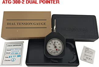 VTSYIQI ATG-300-2 Dial Tension meter tester Gauge Force Meter With Unit G 300G Double needle