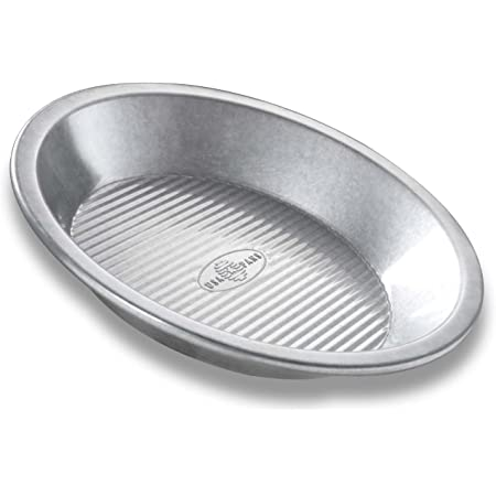 Norpro Stainless Steel Pie Pan 9 X 1.5 Thanksgiving New Durable Mirror Finish 3811