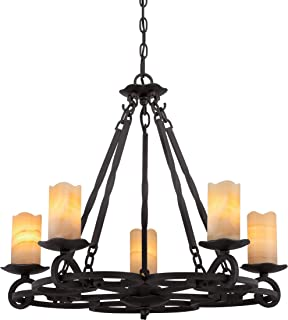 mexican wrought iron chandelier