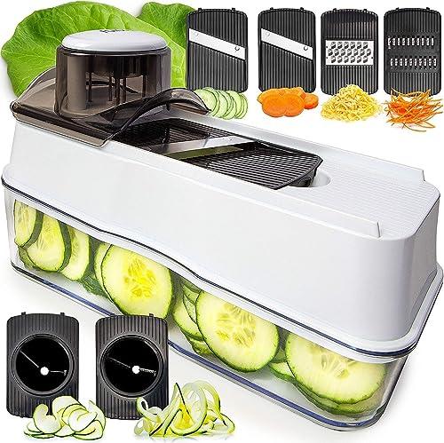 wholesale Fullstar high quality Vegetable Chopper Cheese Grater - 6-in-1 Vegetable outlet sale Slicer Mandoline Slicer outlet sale