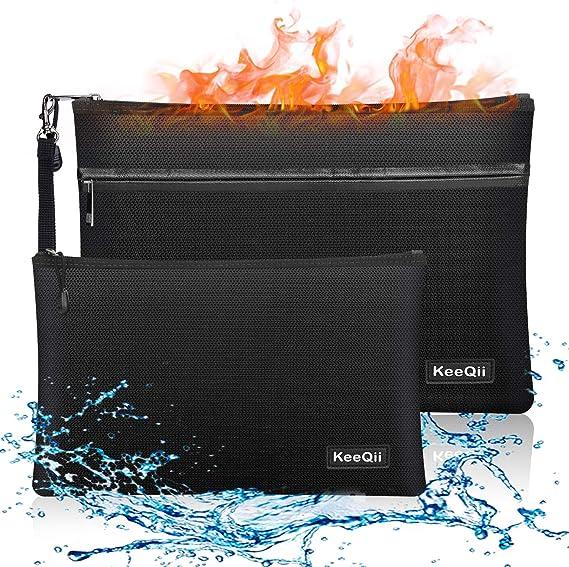 KeeQii Fireproof Money Bag