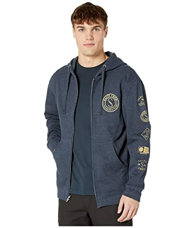 Salty Crew Palomar Zip Fleece (Navy Heather) Men