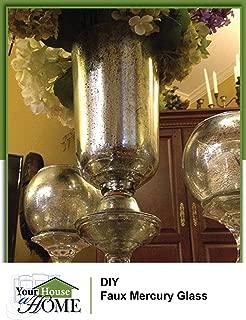 DIY: Make Unique Faux Mercury Glass Pieces