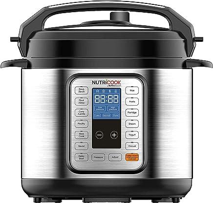 Nutricook Smart Pot by Nutribullet - 6 Liters 9 in1 Electric Pressure Cooker, 1000 Watts