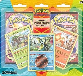 Pokémon : Pack amélioré de 2 boosters avec 3 cartes promo et une pièce - Janvier 2021 - Jeu de cartes à collectionner