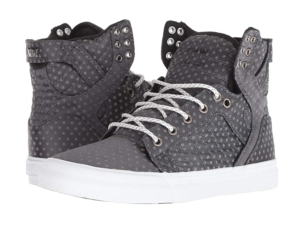 Supra Skytop (Dark Grey Polka Dot/White) Women