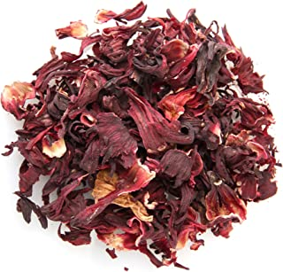Hibiscus Flowers - 100% Natural - 8oz - Whole Flowers - EarthWise Aromatics