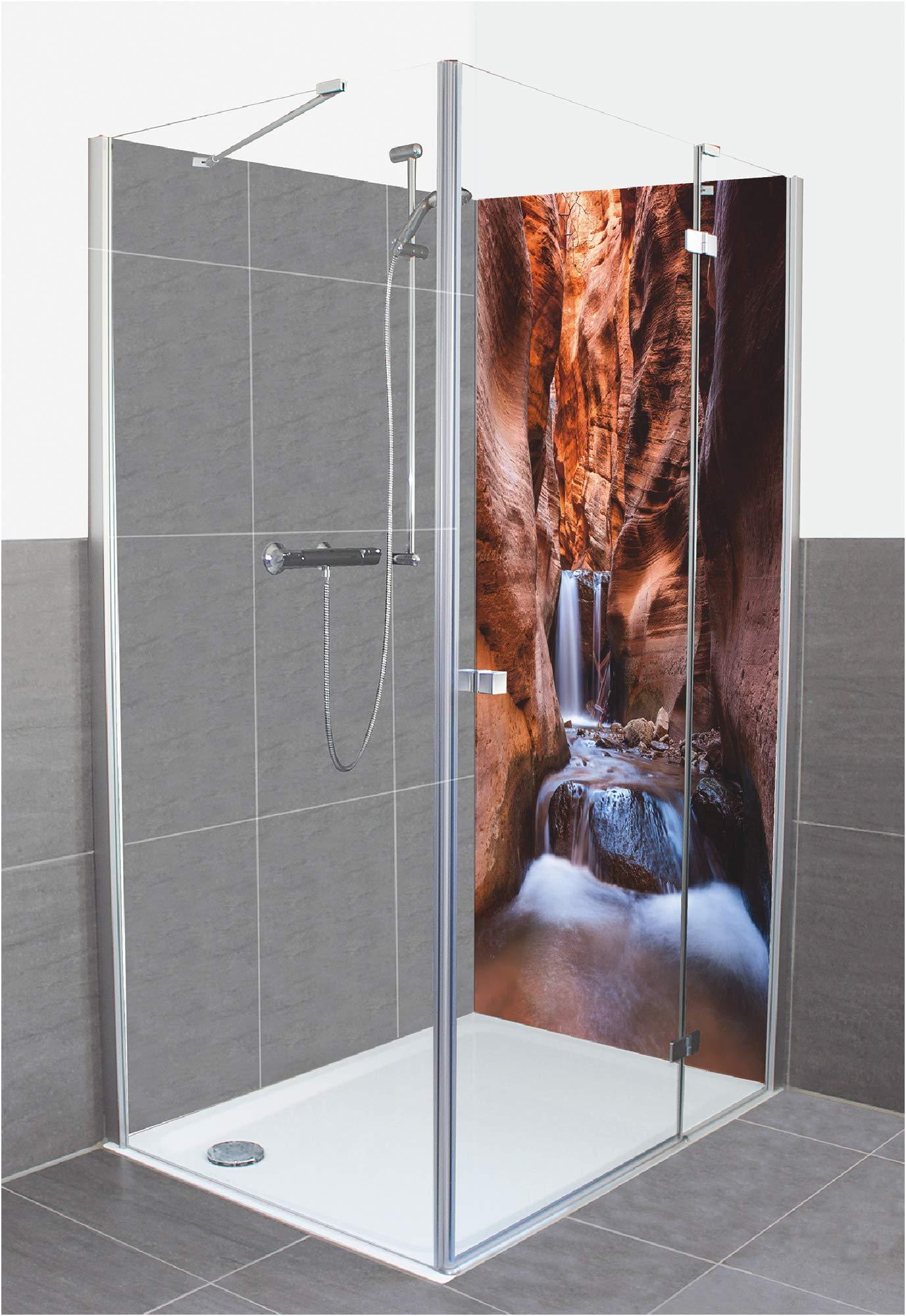 Artland D3JO - Panel de Pared de Aluminio Compuesto para Ducha ...