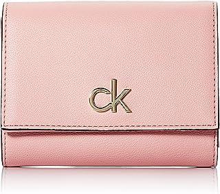Calvin Klein Trifold MD, Accessoire Portefeuille de Voyage Femme, Purple, Taille Unique