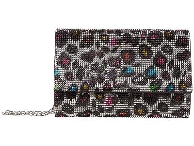 Jessica McClintock Alexis Sparkle Clutch (Multi Leopard) Clutch Handbags