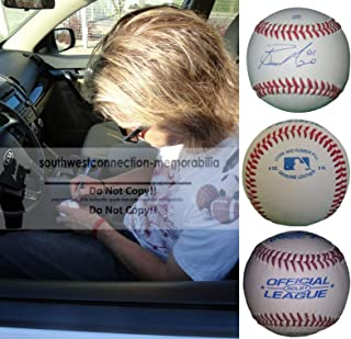 bronson arroyo autographed baseball