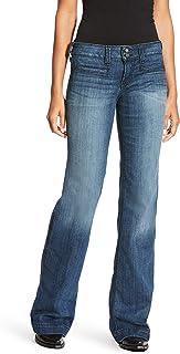 ARIAT Women`s Ella Trouser Jeans Flare Indigo 34 XL