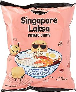 F.EAST Potato Chips Carton, Singapore Laksa, 70g (Pack of 24)