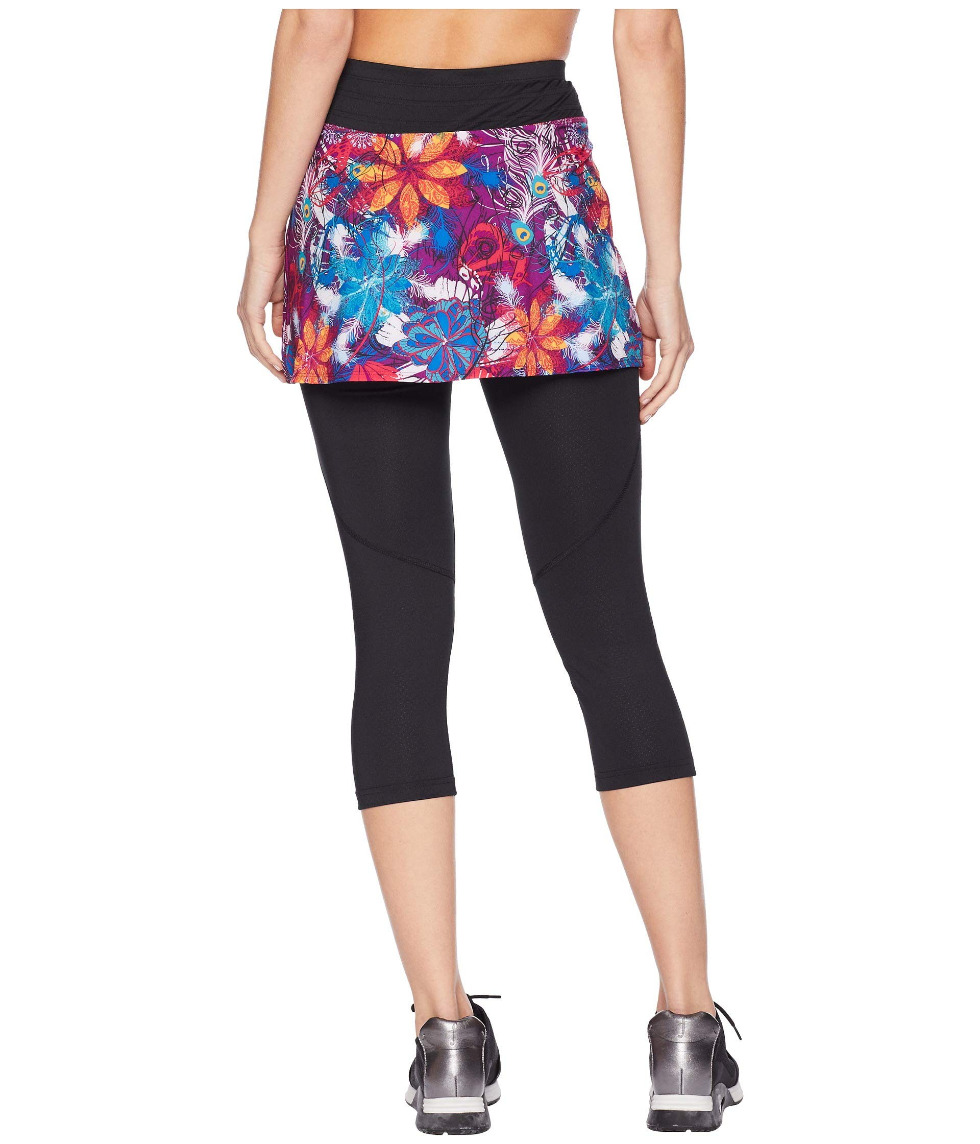 Temper black Hover Capri Tantrum Print Sports Skirt q6twYBt