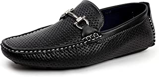d0f667ba552568 hommes à enfiler italien designer mocassins chaussures Décontracté  Chaussures bateau élégant mocassin