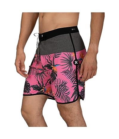 Hurley 18 Phantom Exotic Boardshorts (Lotus Pink) Men