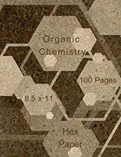 Organic Chemistry: Hex paper (or honeycomb paper),This Small hexagons measure .2