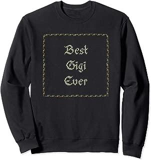 Best Gigi Ever Cross Stitch Shirt Vintage Craft Sewing Gift
