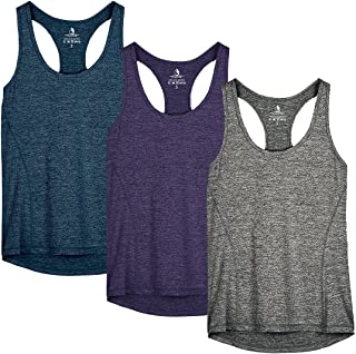 Workout Tank Tops for Women - Racerback Athletic Yoga...
