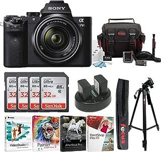 Sony Alpha a7II Mirrorless Digital Camera with 28-70mm Lens & 32GB Bundle