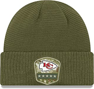 PLHDHESE Unisex Chiefs Football Fashion Warm Skull Cap Adult Knit Hat Black One Size