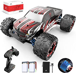 DEERC RC Cars 9300 High Speed Remote Control Car for Kids Adults 1:18 Scale 40 KM/H 4WD Off Road Monster Trucks,2.4GHz All...