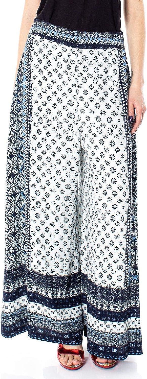 Desigual Women's 19SWPW15WHITE White Viscose Pants