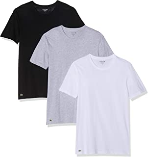 499ded34f122 Lacoste Men s Cotton Crew-Neck T-Shirt Undershirt ...