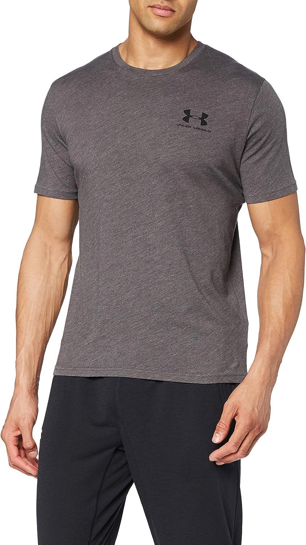 Under online shop Armour Mens Sportstyle Left Short Ranking TOP15 Sleeve T-Shirt Chest