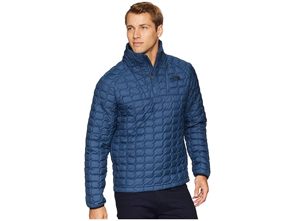 The North Face ThermoBall Pullover (Shady Blue) Men