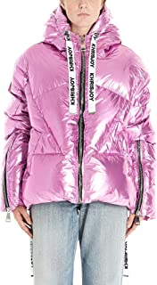 KHRISJOY Luxury Fashion Womens AFPW001NYMTLPK77 Purple Down Jacket | Fall Winter 19
