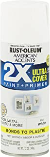 Rust-Oleum 327868 American Accents Ultra Cover 2X, Flat White